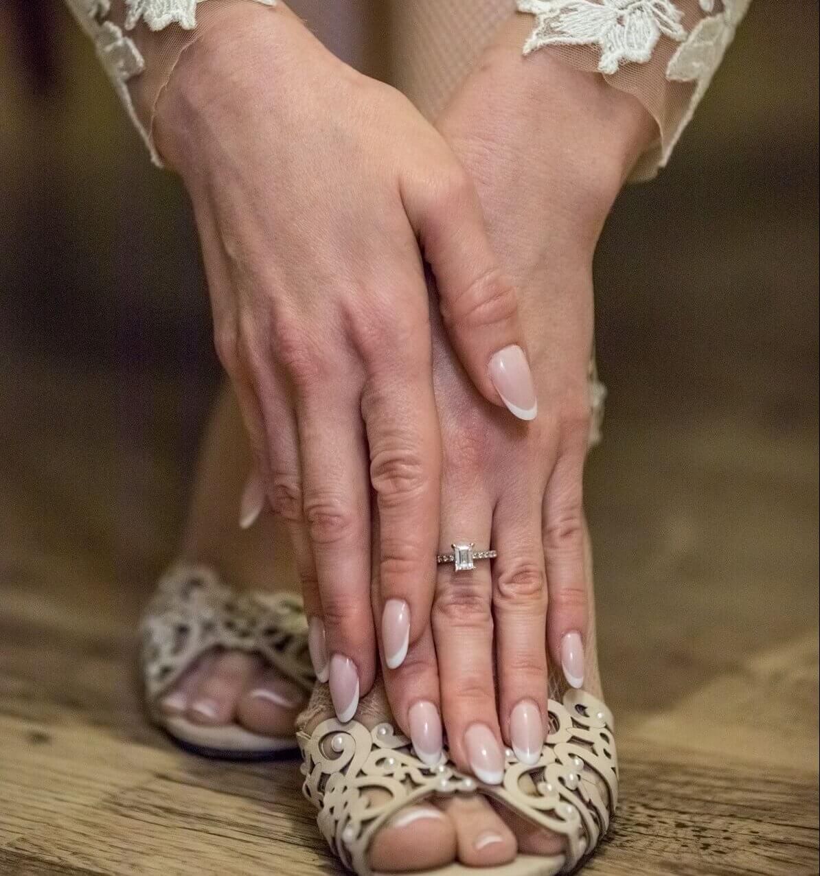 ציפורניים לכלה: הציפורניים שלי בחתונתי